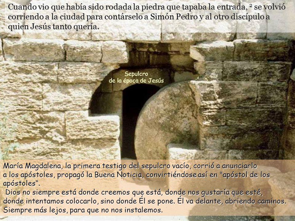 Sepulcro de la época de Jesús