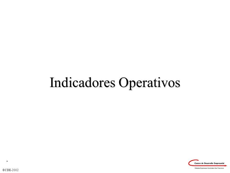 Indicadores Operativos