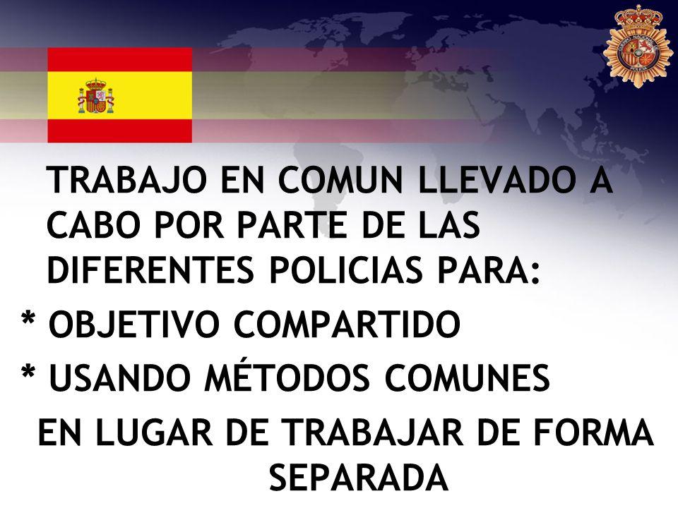 EN LUGAR DE TRABAJAR DE FORMA SEPARADA