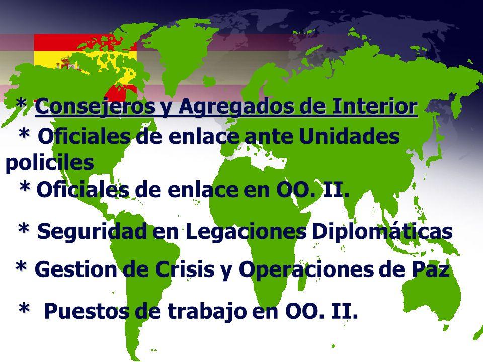 * Seguridad en Legaciones Diplomáticas