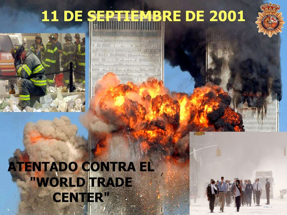 ATENTADO CONTRA EL WORLD TRADE CENTER