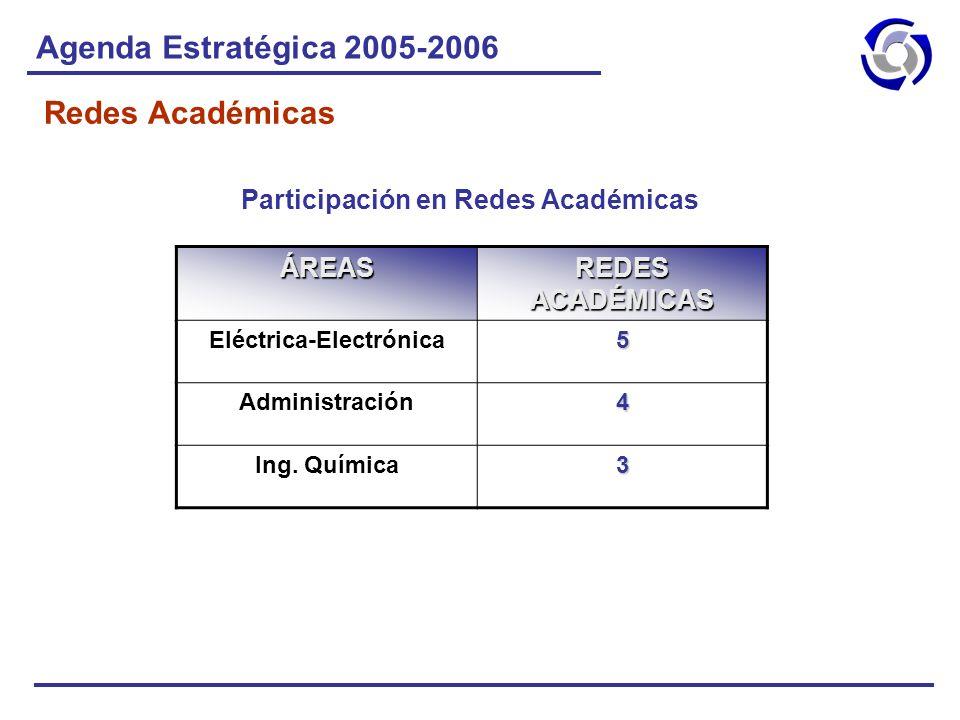 Participación en Redes Académicas Eléctrica-Electrónica