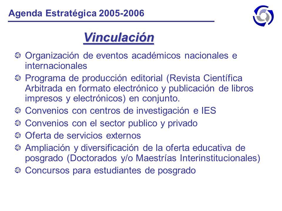 Vinculación Agenda Estratégica 2005-2006