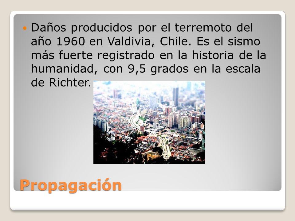 Daños producidos por el terremoto del año 1960 en Valdivia, Chile