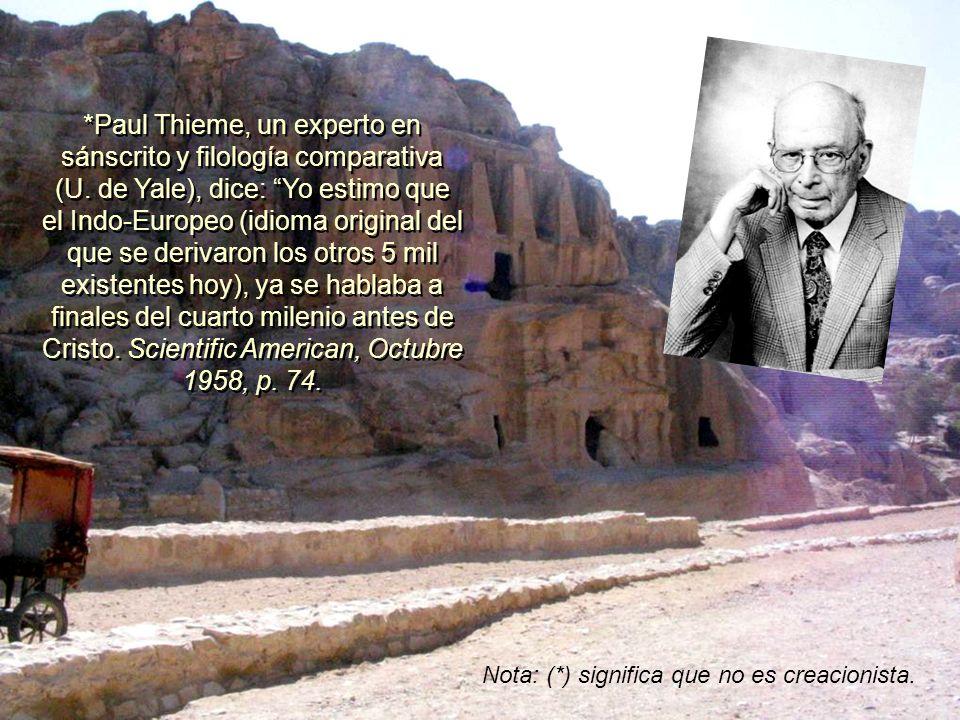 Paul Thieme, un experto en sánscrito y filología comparativa (U