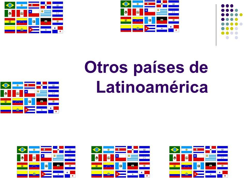 Otros países de Latinoamérica
