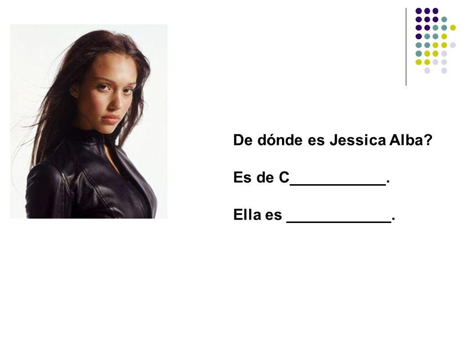 De dónde es Jessica Alba