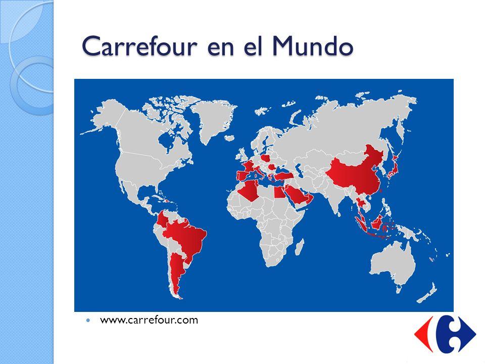 Carrefour en el Mundo www.carrefour.com