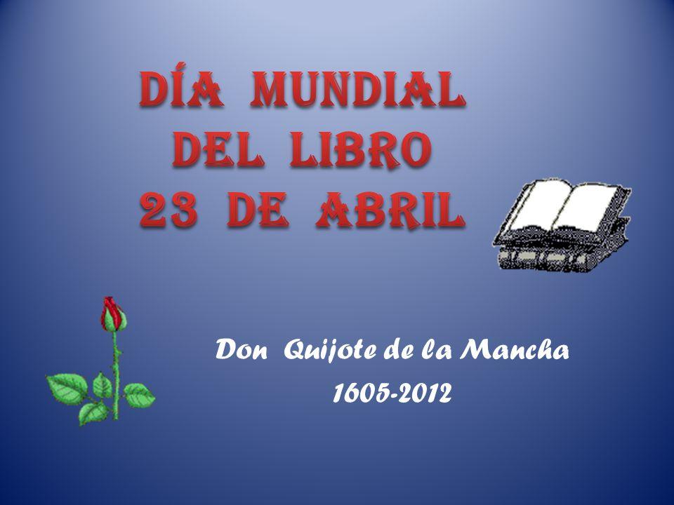 DÍA MUNDIAL DEL LIBRO 23 de abril