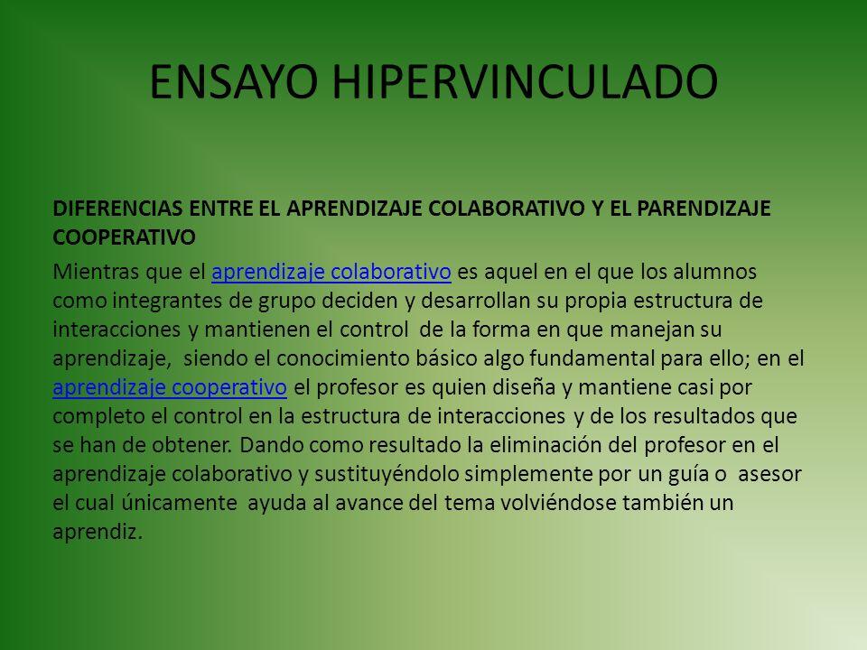 ENSAYO HIPERVINCULADO