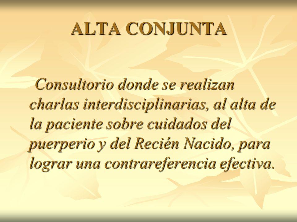 ALTA CONJUNTA