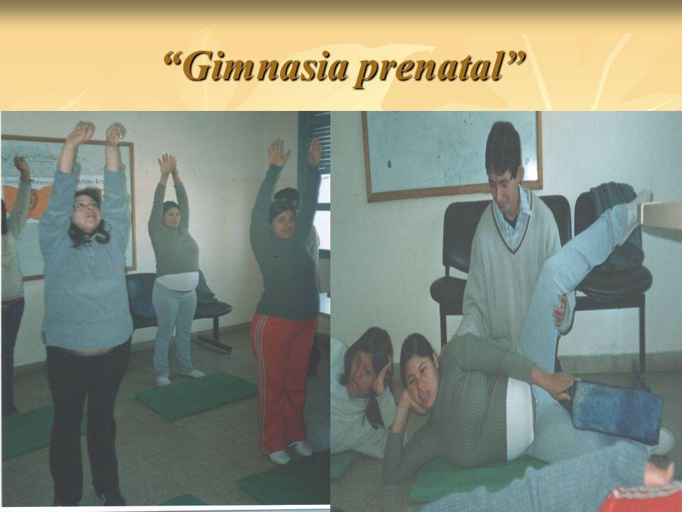 Gimnasia prenatal
