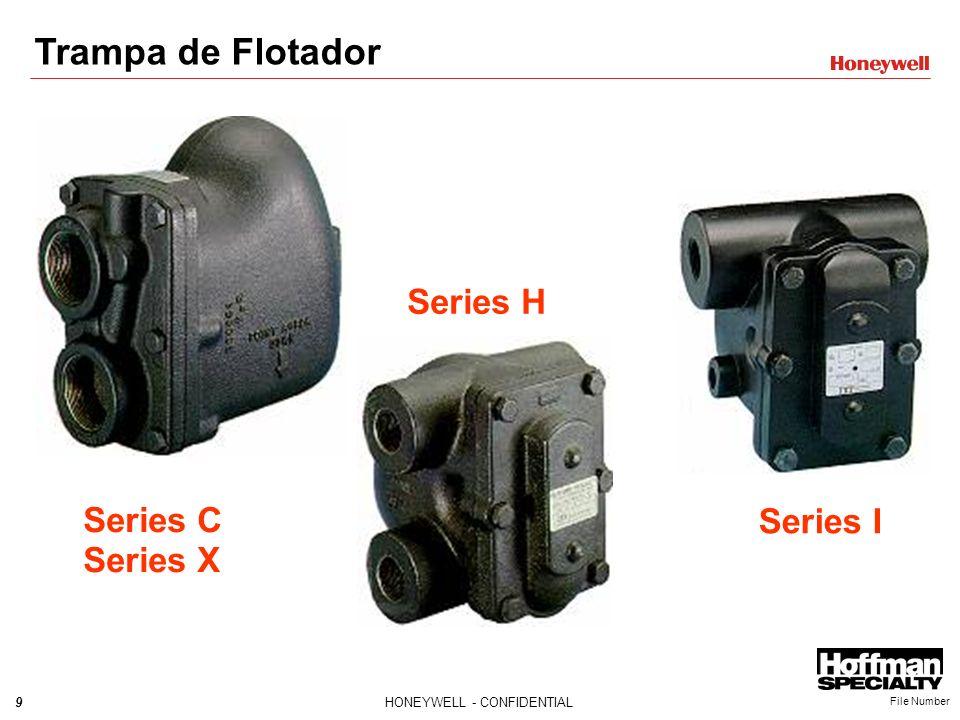 Trampa de Flotador Series H Series C Series X Series I