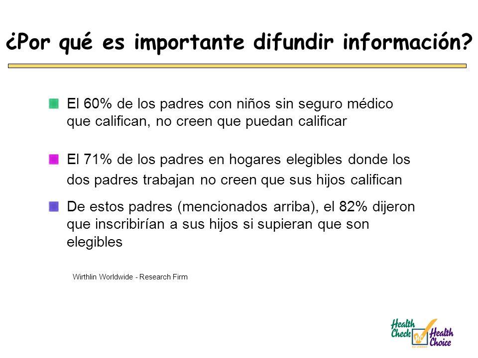 ¿Por qué es importante difundir información