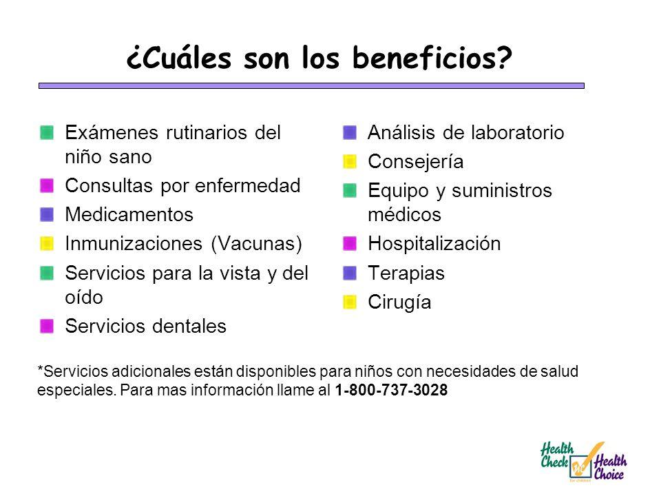 ¿Cuáles son los beneficios