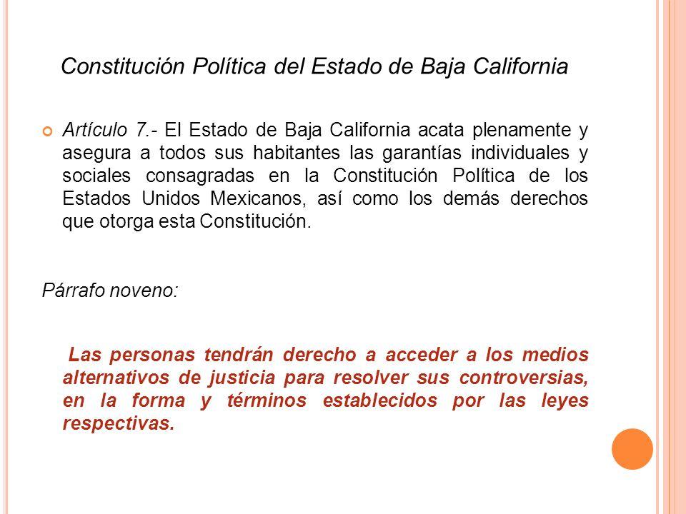 Constitución Política del Estado de Baja California
