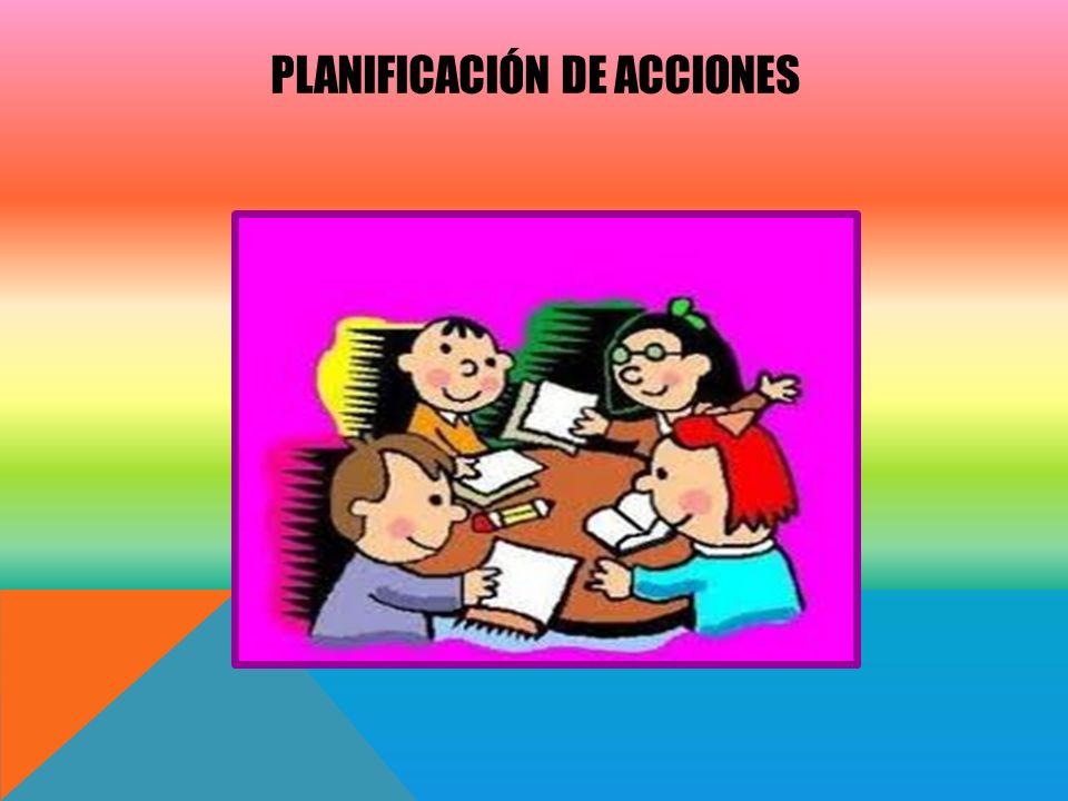 Planificación de acciones