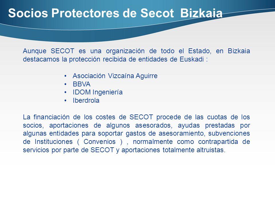 Socios Protectores de Secot Bizkaia