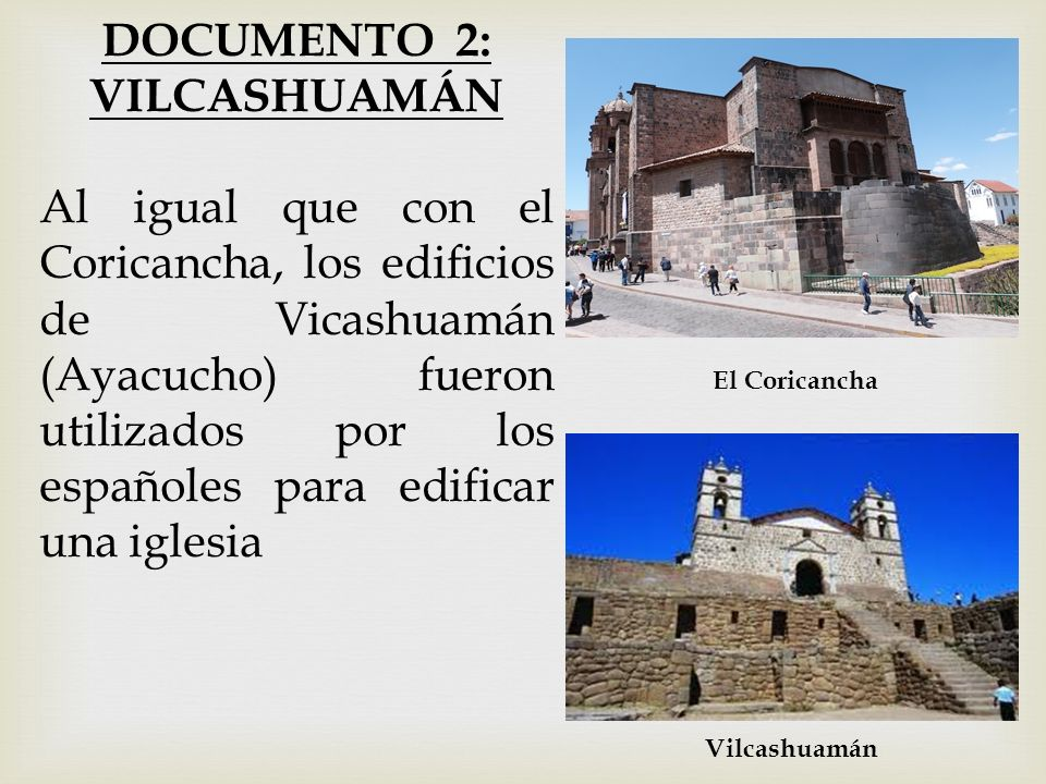 DOCUMENTO 2: VILCASHUAMÁN