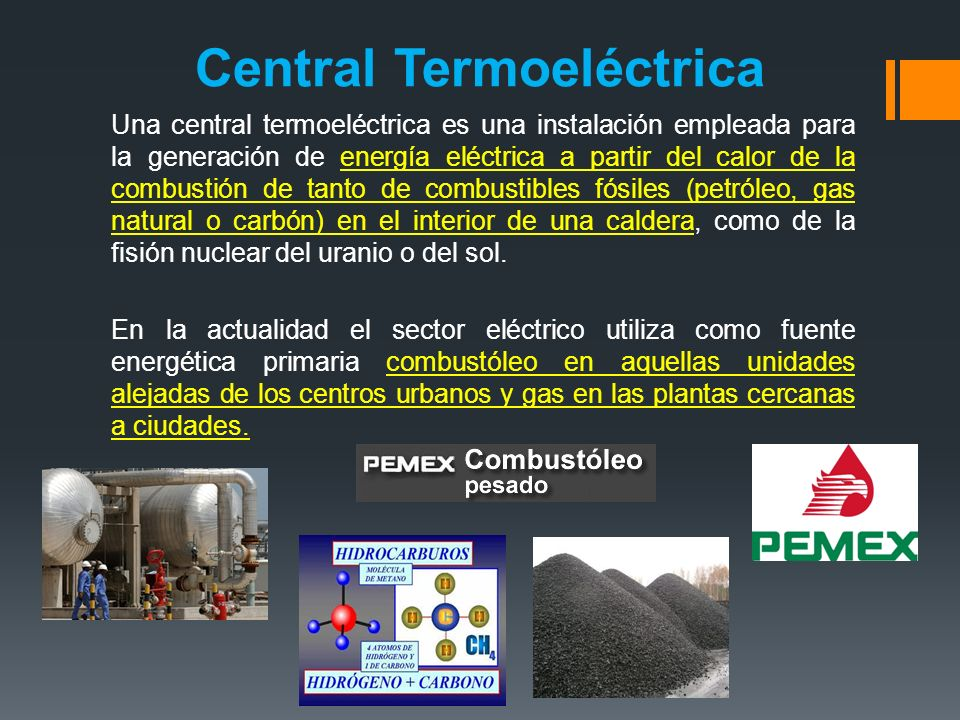 Central Termoeléctrica