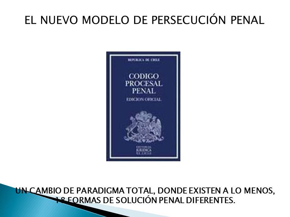 EL NUEVO MODELO DE PERSECUCIÓN PENAL