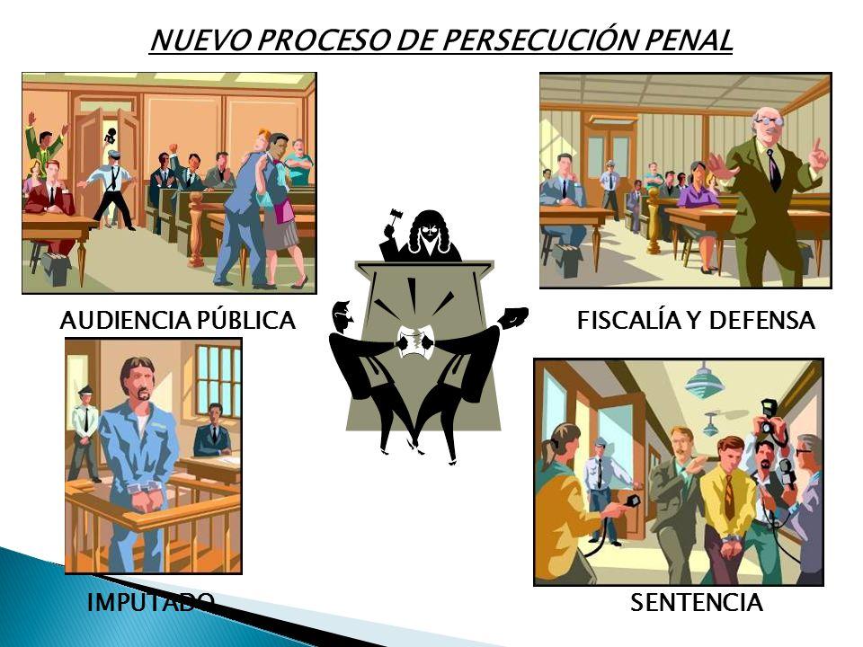 NUEVO PROCESO DE PERSECUCIÓN PENAL
