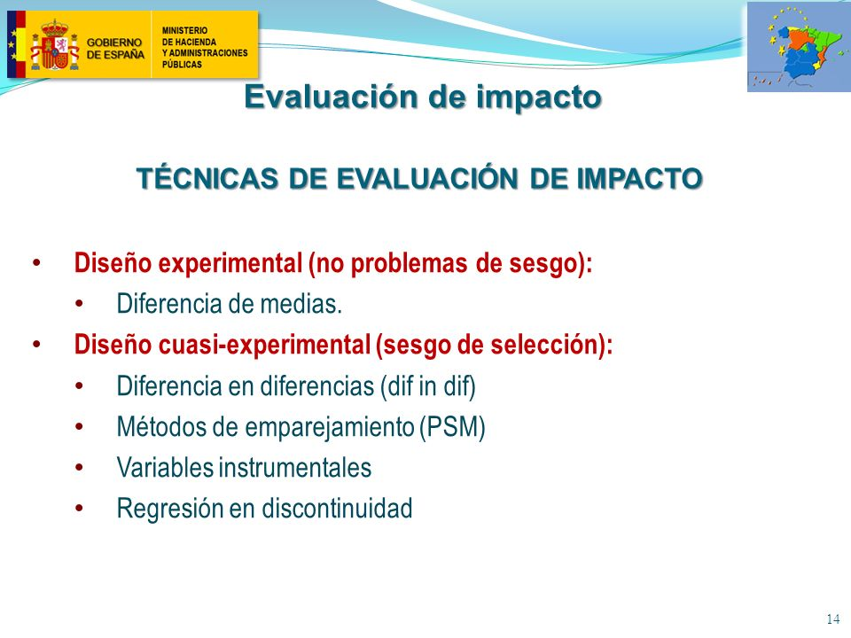 Técnicas de evaluación de impacto