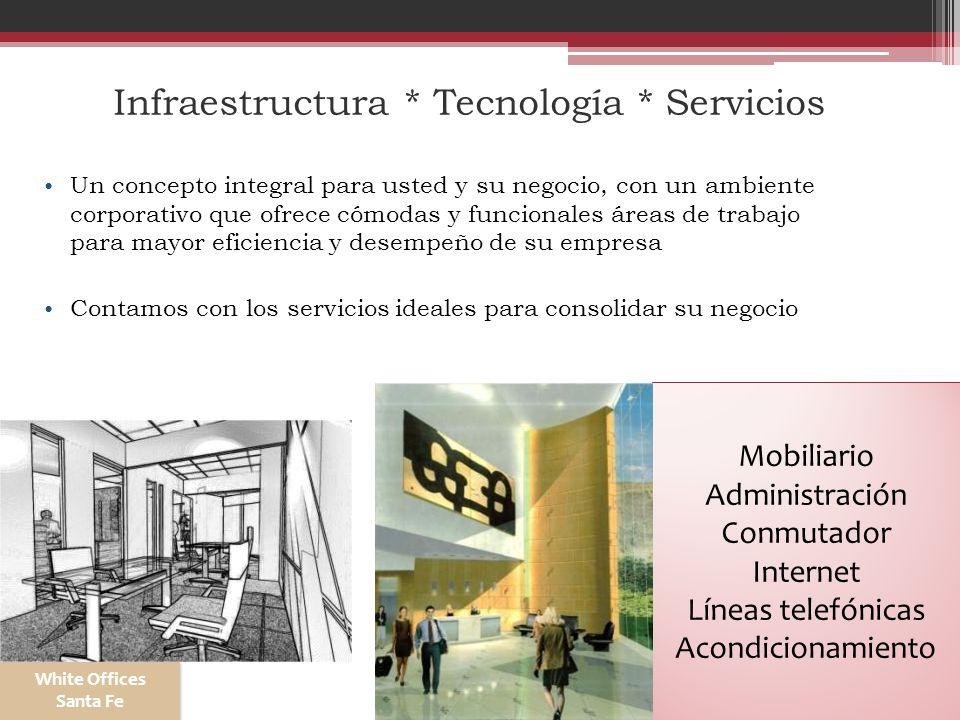 Infraestructura * Tecnología * Servicios