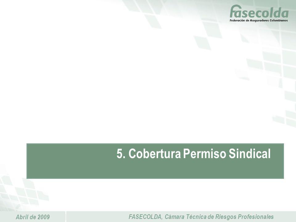 5. Cobertura Permiso Sindical