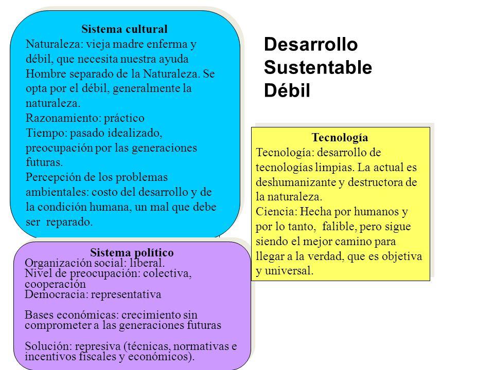 Desarrollo Sustentable Débil