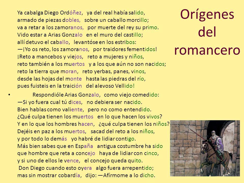 Orígenes del romancero