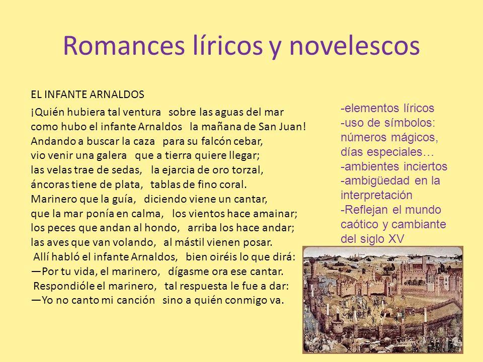 Romances líricos y novelescos