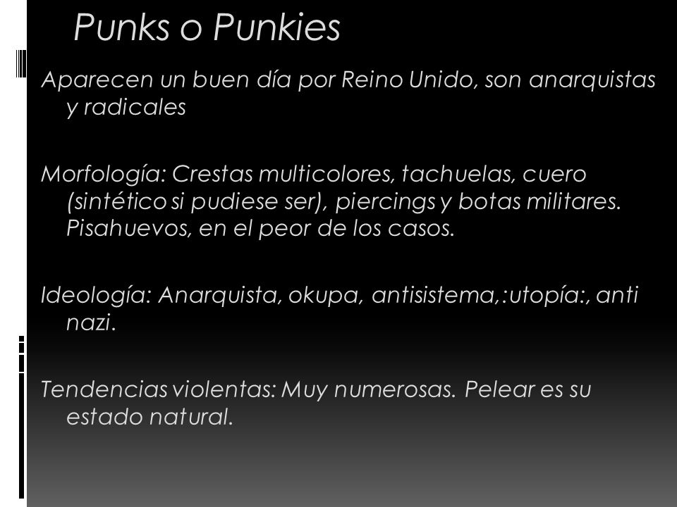 Punks o Punkies