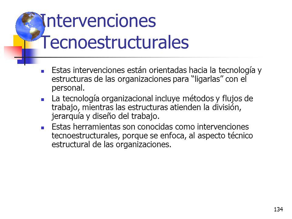 Intervenciones Tecnoestructurales