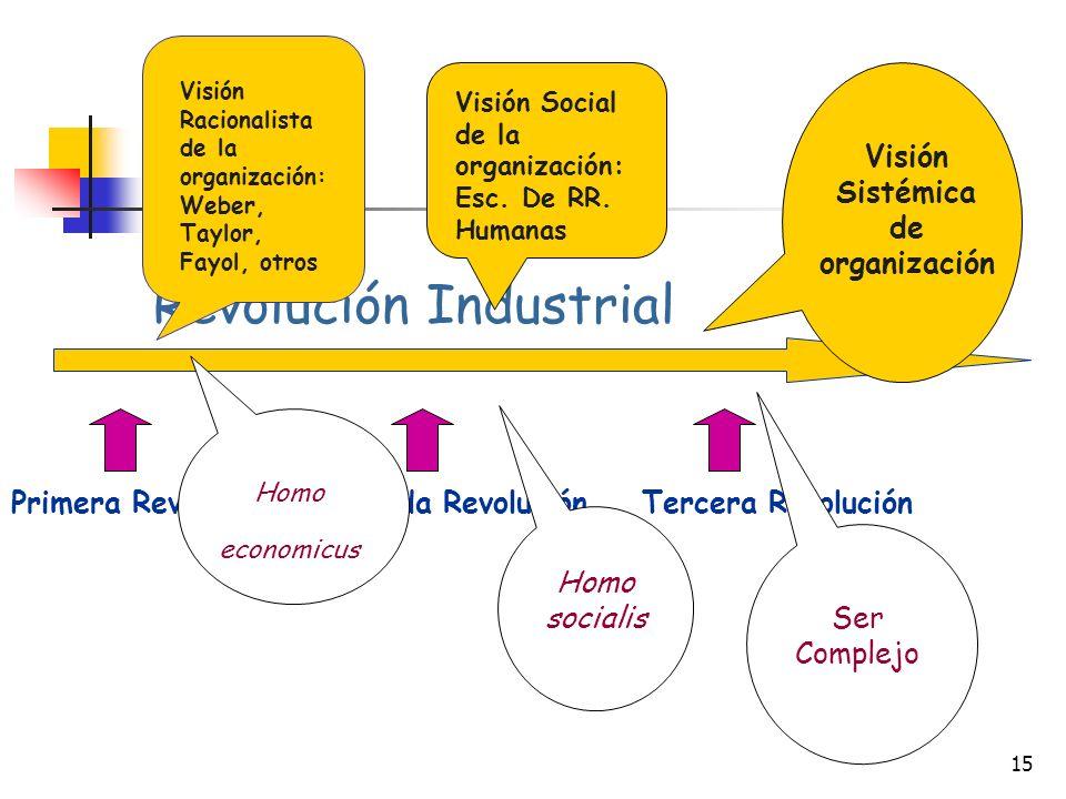 Visión Sistémica de organización