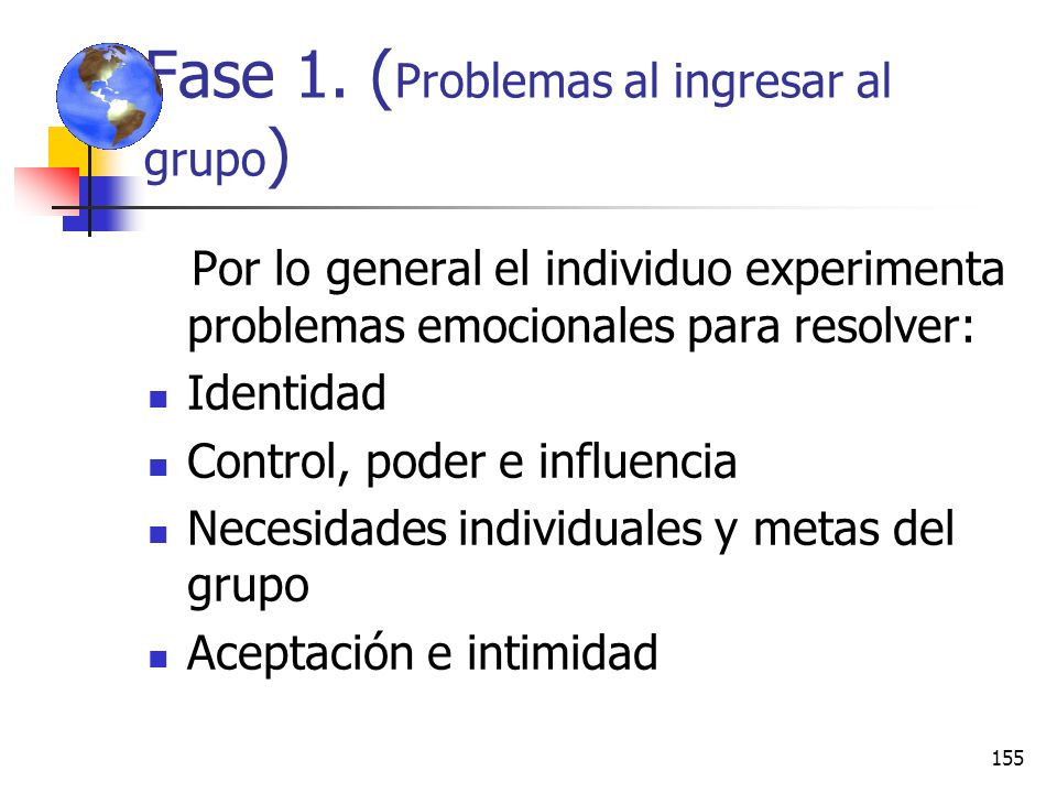 Fase 1. (Problemas al ingresar al grupo)