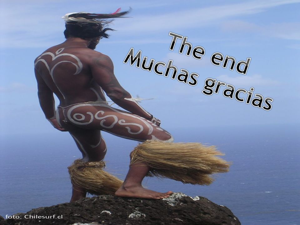 The end Muchas gracias
