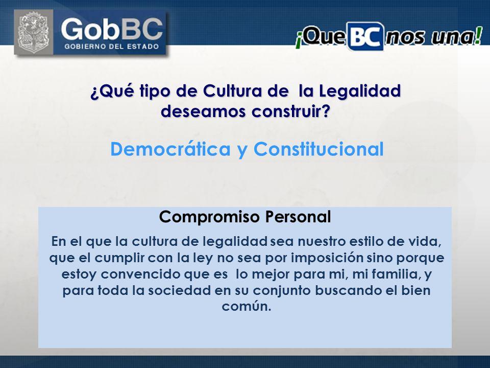 Democrática y Constitucional