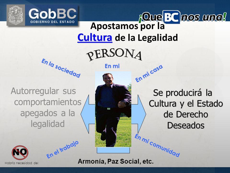 Apostamos por la Cultura de la Legalidad