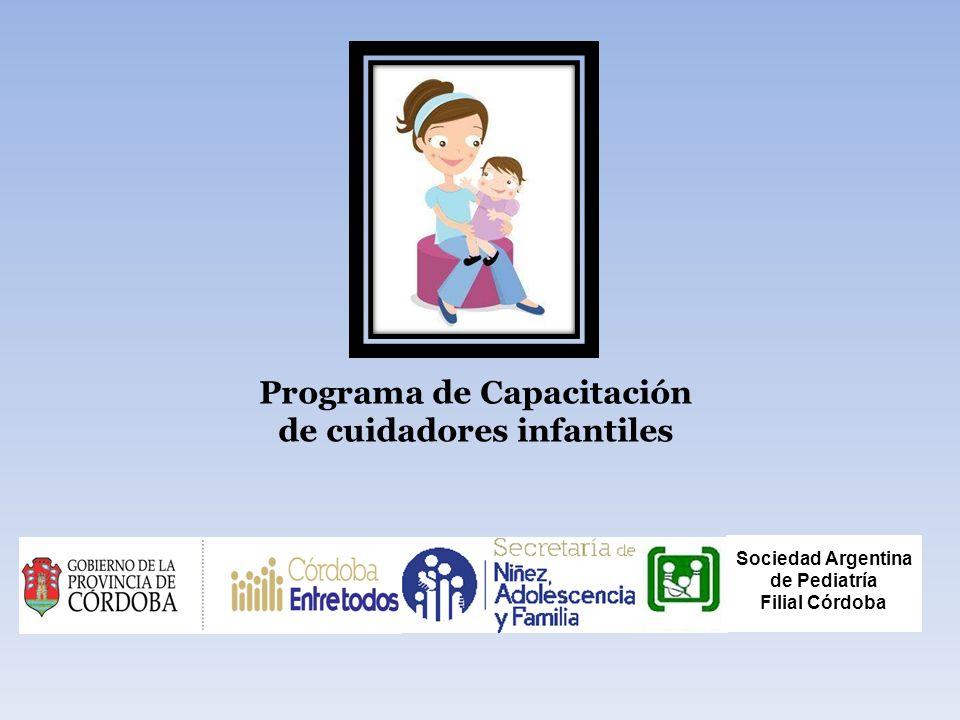 Programa de Capacitación de cuidadores infantiles