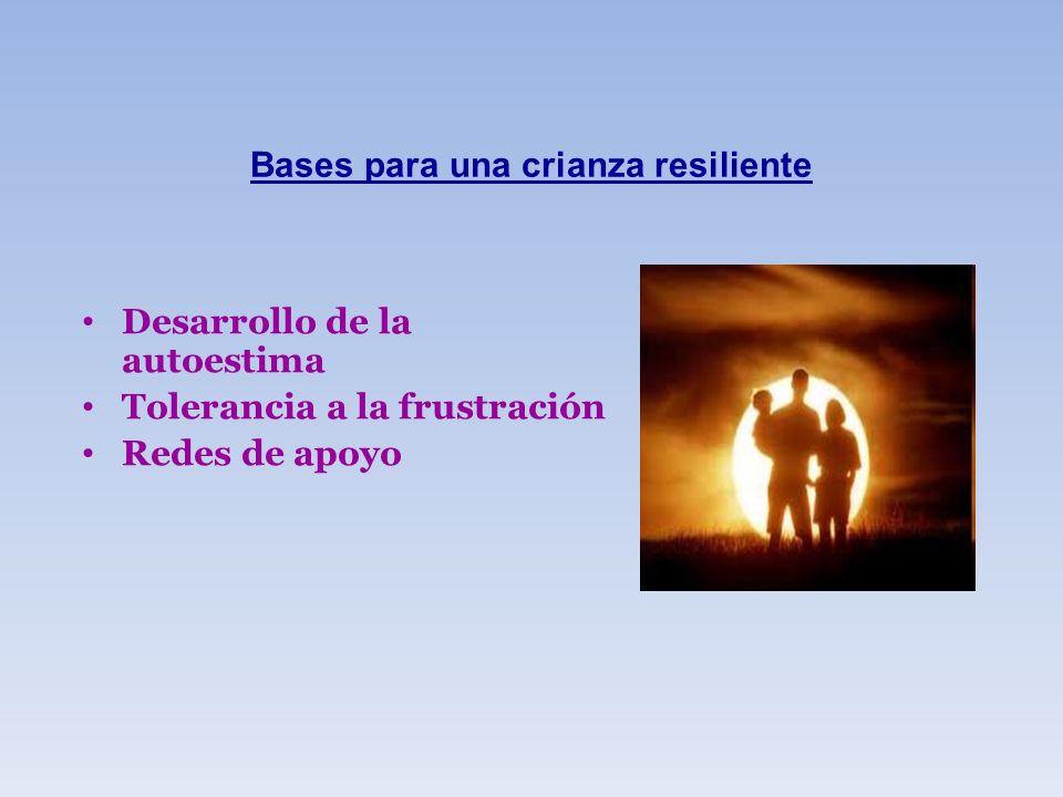 Bases para una crianza resiliente