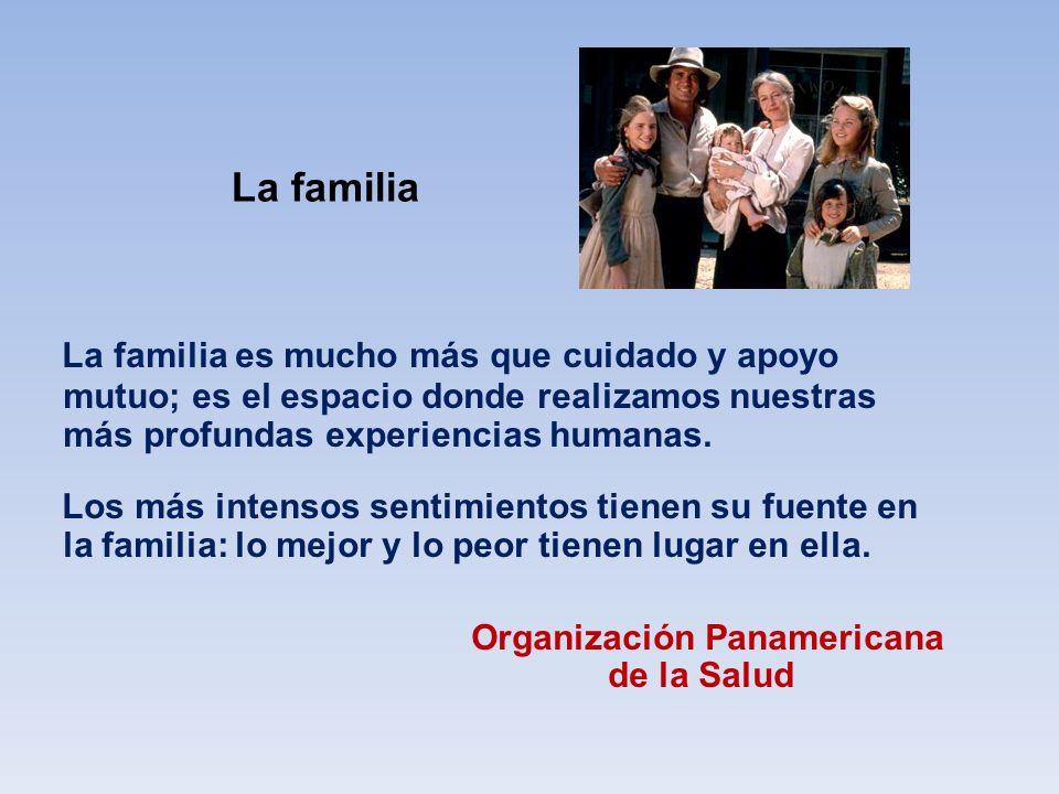 La familia La familia es mucho más que cuidado y apoyo mutuo; es el espacio donde realizamos nuestras más profundas experiencias humanas.
