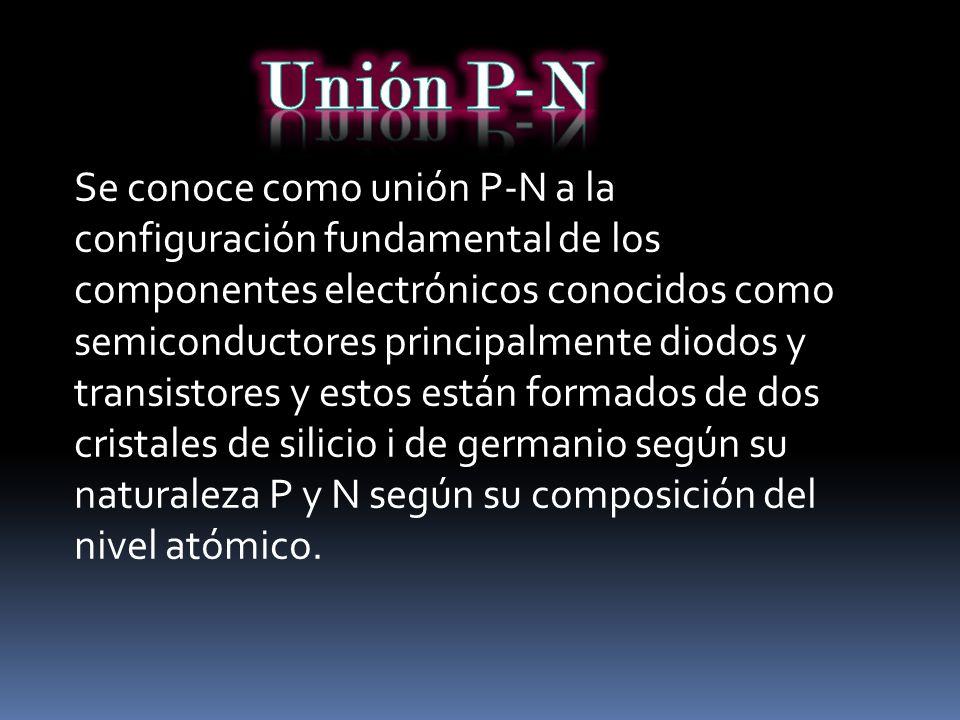Unión P-N