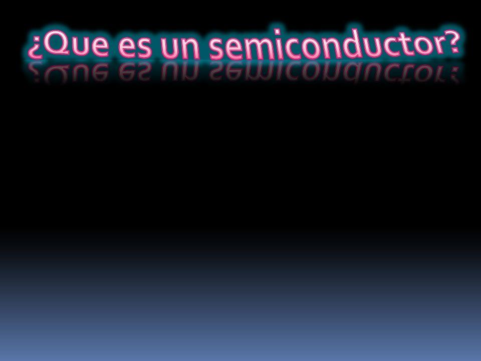 ¿Que es un semiconductor
