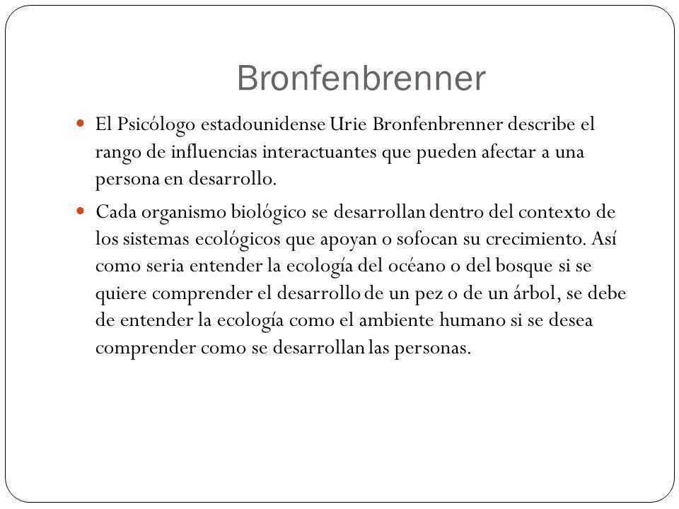 Bronfenbrenner