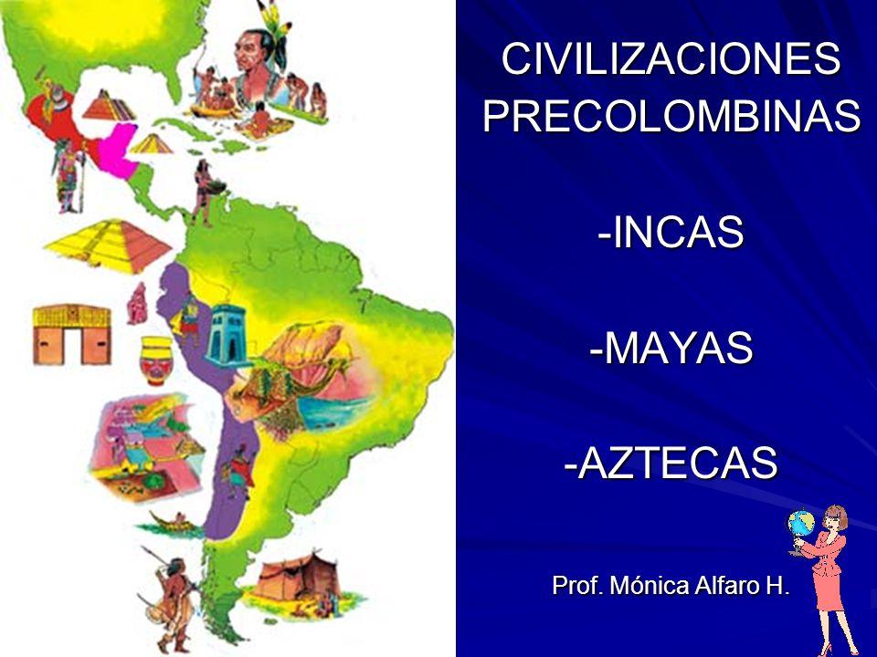 Fabuleux CIVILIZACIONES PRECOLOMBINAS -INCAS -MAYAS -AZTECAS - ppt video  AZ61