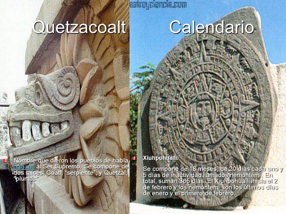 Quetzacoalt Calendario