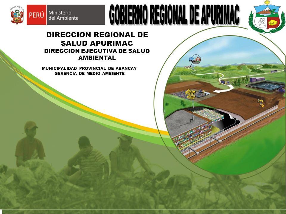 Rellenos sanitarios gobierno regional de apurimac ppt for Sanitarios online