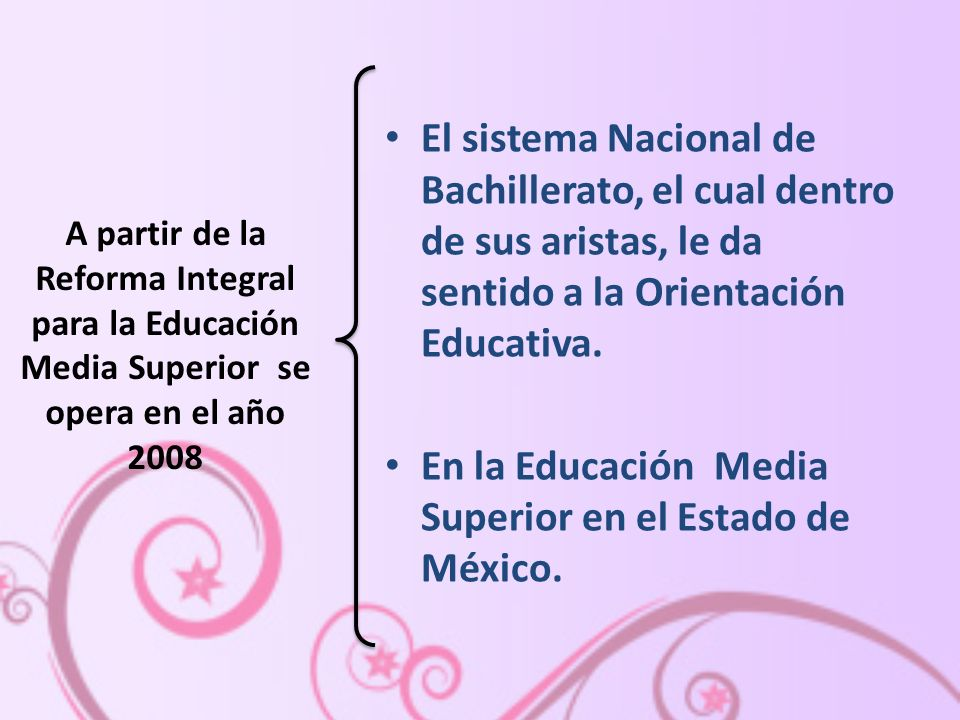 En la Educación Media Superior en el Estado de México.