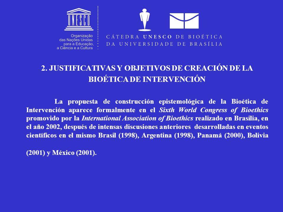 2. JUSTIFICATIVAS Y OBJETIVOS DE CREACIÓN DE LA